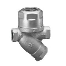 Thermodynamic disc steam trap