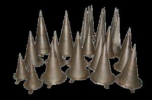 witch-hat strainer